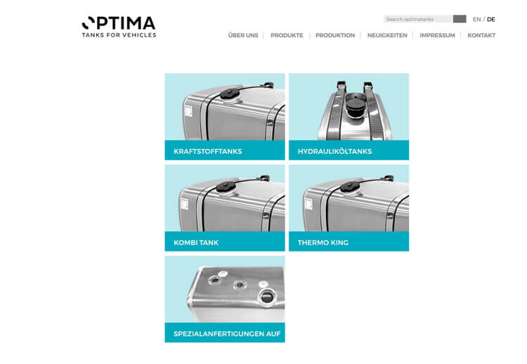 Optima Tanks